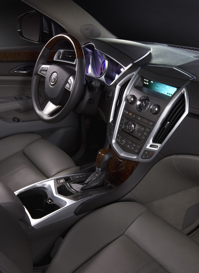 Luxury Sports Cars >> 2010 Cadillac SRX Interior - Picture / Pic / Image