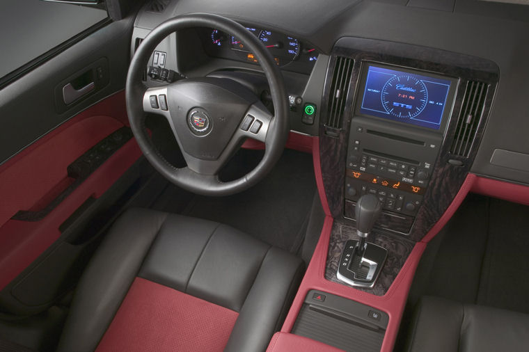 2008 Cadillac Sts V Interior Picture Pic Image