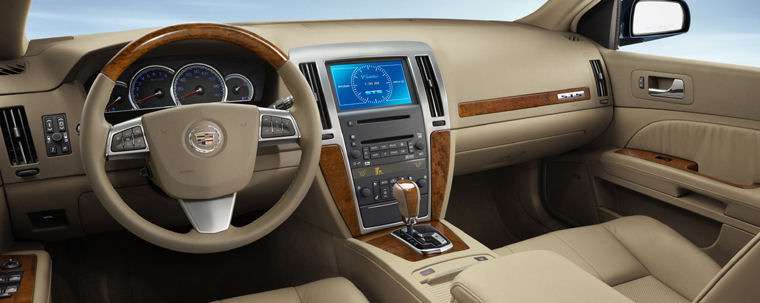 2009 Cadillac Sts Interior Picture Pic Image