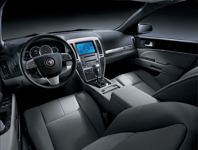 2010 Cadillac Sts Interior Picture Pic Image