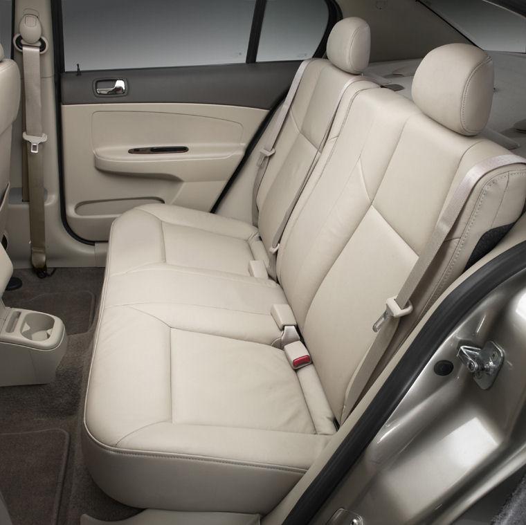 2005 Chevrolet (Chevy) Cobalt LT Rear Seats Picture
