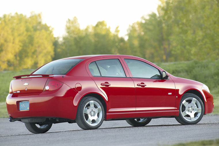 2007 Chevrolet Chevy Cobalt Ss Sedan Picture Pic Image