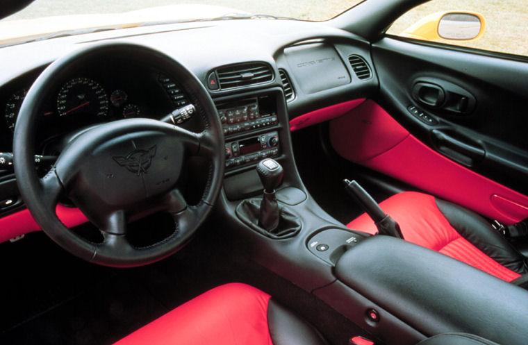 2002 Chevrolet Corvette Z06 Interior Picture Pic Image
