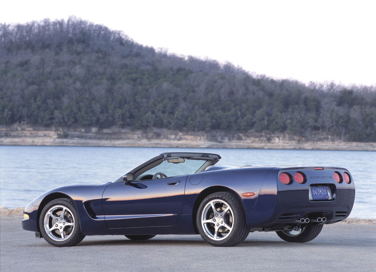 2004 chevrolet corvette commemorative edition convertible picture pic image. Black Bedroom Furniture Sets. Home Design Ideas