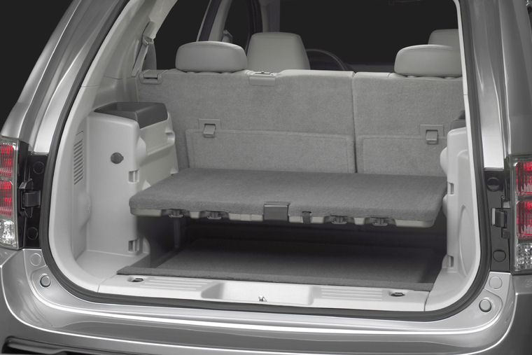 2008 Chevrolet Equinox Trunk Picture Pic Image