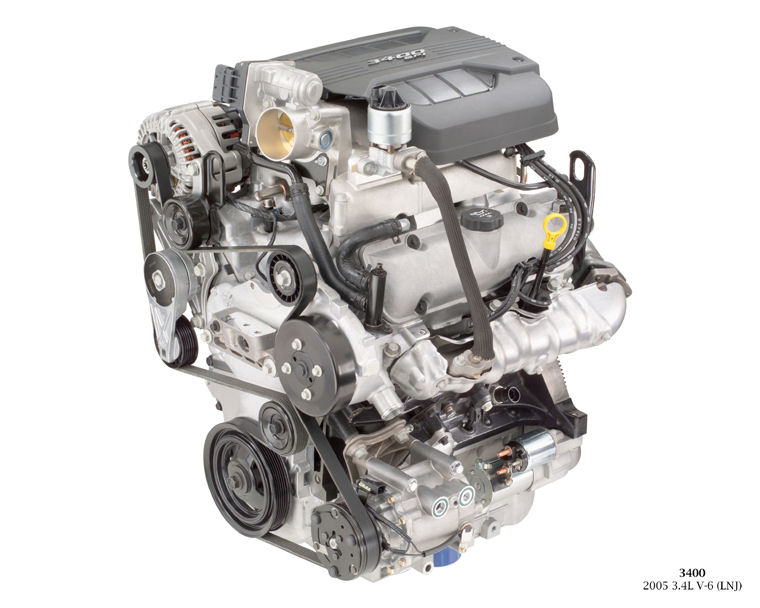 2009 Chevrolet Equinox 3 4l V6 Engine Picture Pic Image