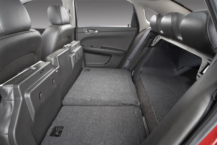 2008 Chevrolet Impala Lt 50th Anniversary Rear Seats