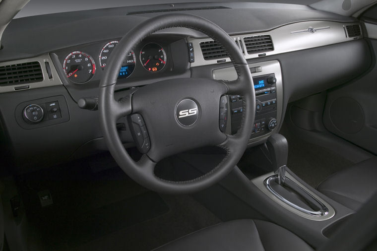 Superb 2008 Chevrolet Impala SS Interior Picture
