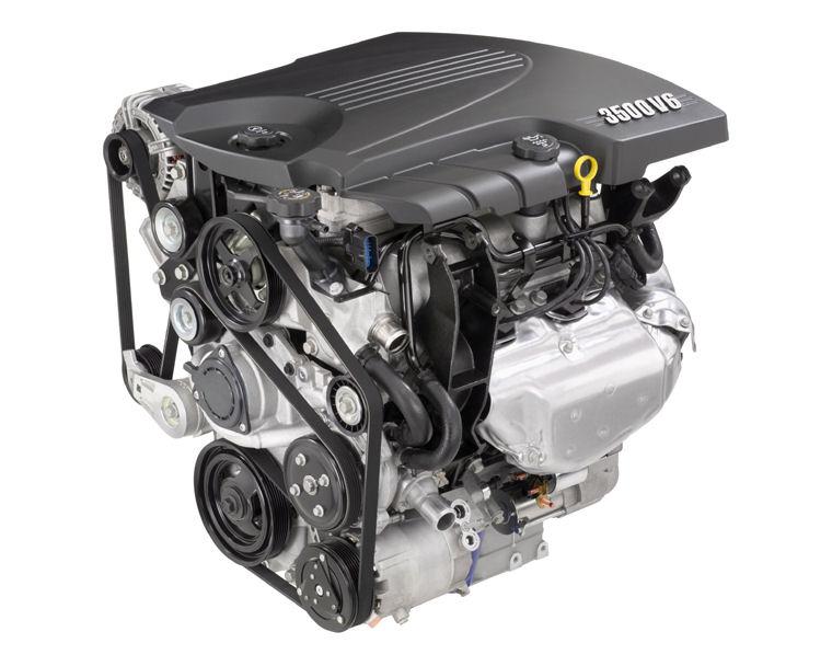 2009 Chevrolet Impala 35l V6 Engine Picture Pic Image