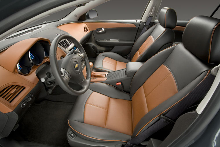 2008 Chevrolet (Chevy) Malibu LTZ Front Seats - Picture / Pic / Image