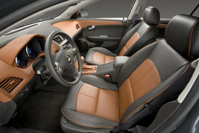 2009 Chevrolet Chevy Malibu Ltz Front Seats Picture