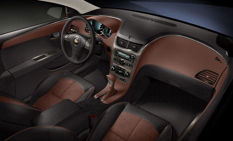 2009 Chevrolet Chevy Malibu Ltz Interior Picture