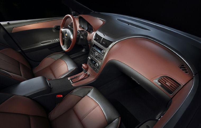 2009 Chevrolet Chevy Malibu Ltz Interior Picture Pic