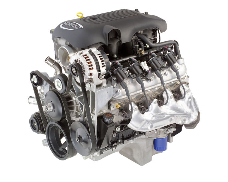 2004 Chevrolet Silverado 1500 5 3l V8 Engine