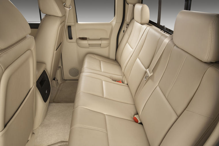 2008 chevrolet silverado 1500 extended cab rear seats picture