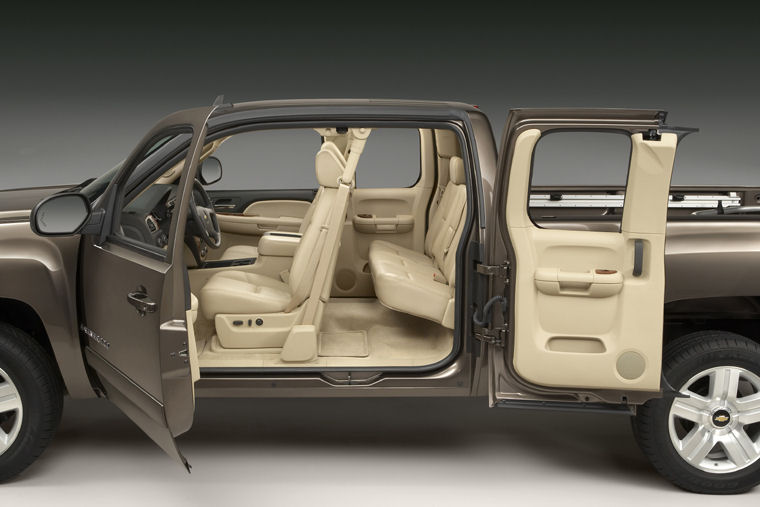 2008 Chevrolet Silverado 1500 Extended Cab Interior Picture Pic Image