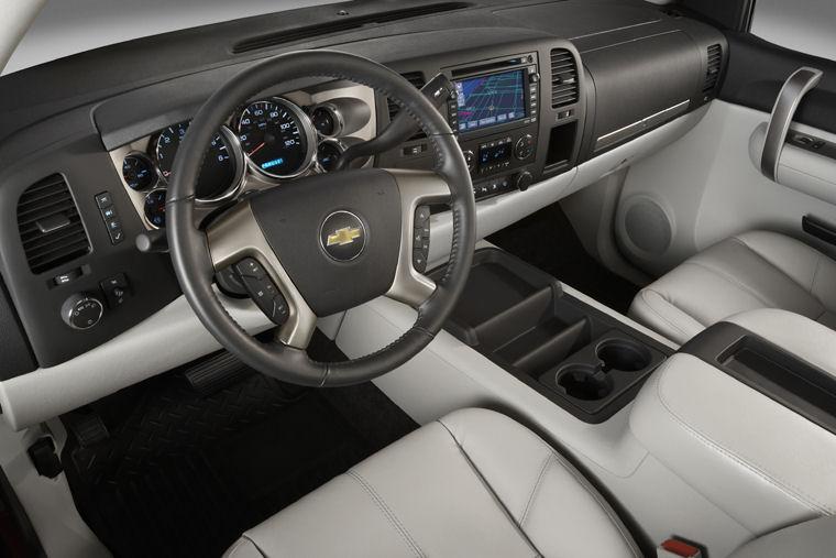 2009 Chevrolet Silverado 1500 Crew Cab Interior - Picture ...