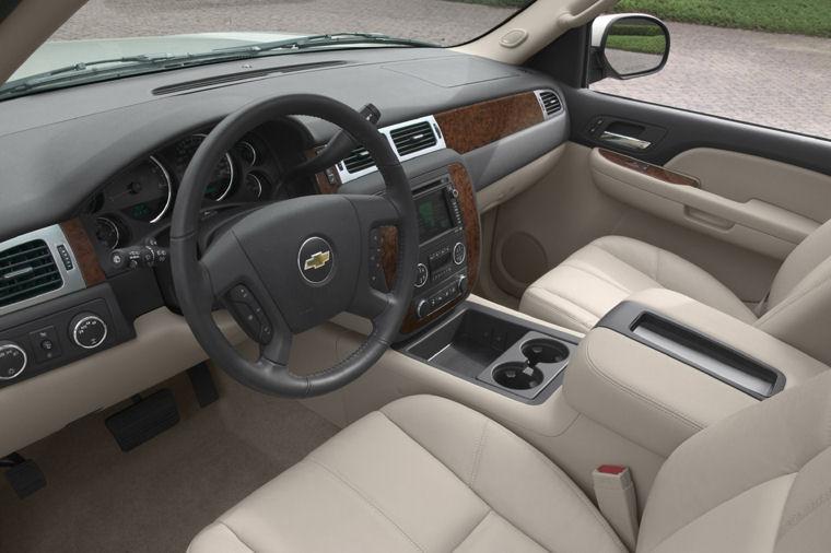 2008 Chevrolet Tahoe Ltz Interior Picture Pic Image