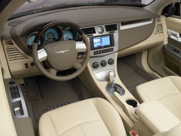 2009 Chrysler Sebring Limited Convertible Interior Picture