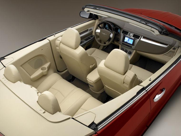 2010 Chrysler Sebring Limited Convertible Interior