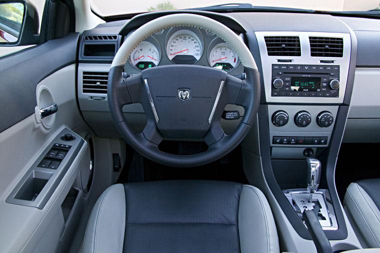 2009 Dodge Avenger Cockpit Picture Pic Image