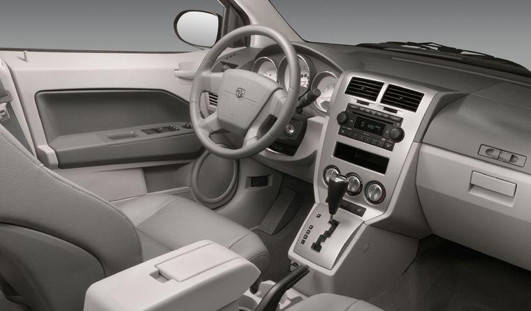 Elegant 2007 Dodge Caliber Interior Picture