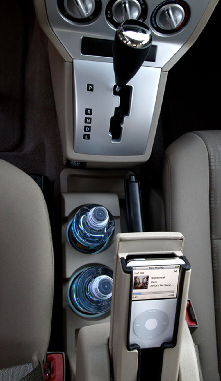 2007 Dodge Caliber Center Console Picture Pic Image