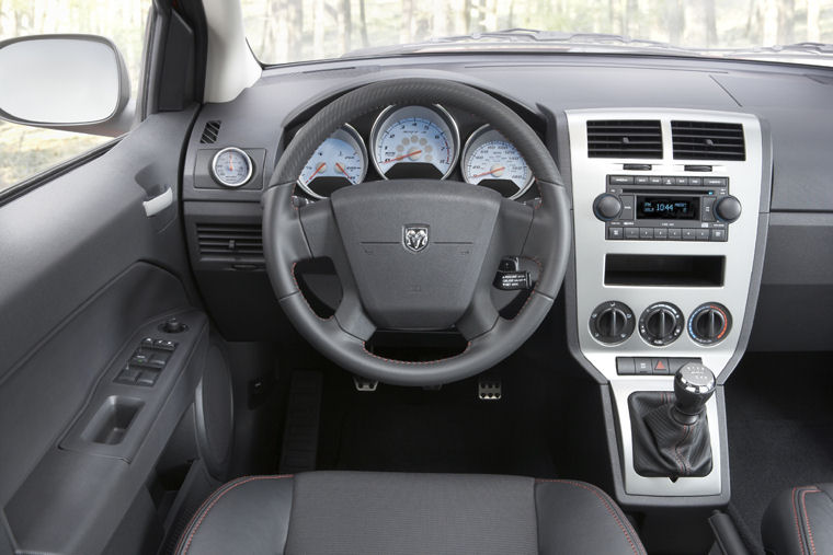 2009 dodge caliber srt4 cockpit picture pic image. Black Bedroom Furniture Sets. Home Design Ideas
