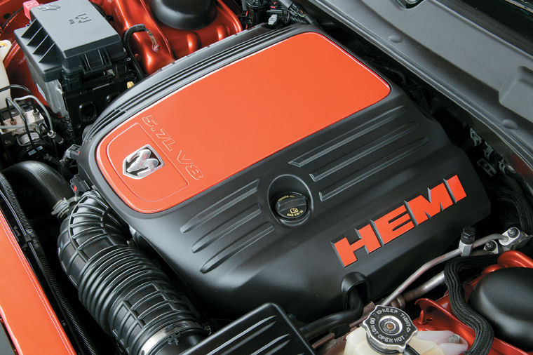 2010 Dodge Charger R T Daytona 5 7l V8 Hemi Engine Picture Pic