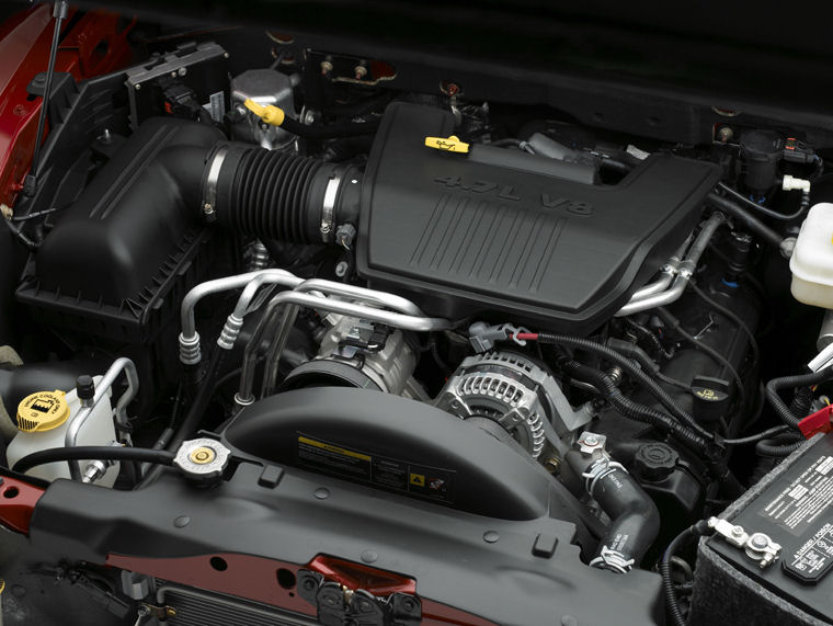 2010 Dodge Dakota Crew Cab 4 7l V8 Engine Picture Pic