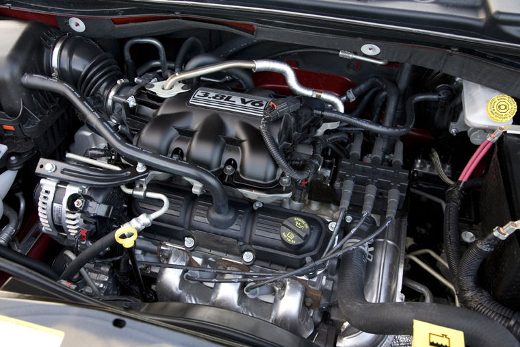 2008 Dodge Grand Caravan Sxt 3 8l V6 Engine Picture