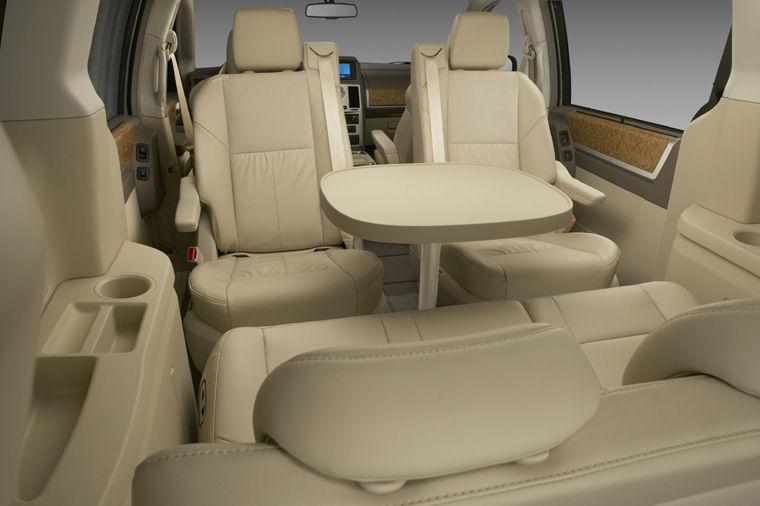 2010 Dodge Grand Caravan Sxt Interior Picture Pic Image