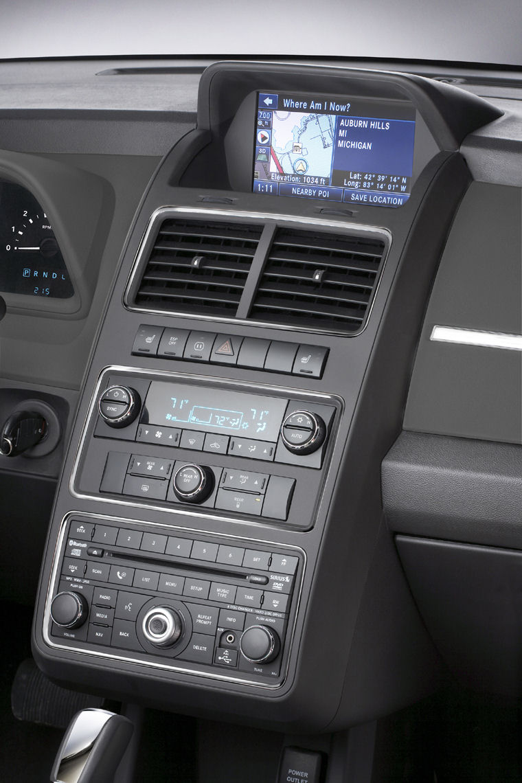 2009 Dodge Journey Center Console Picture Pic Image