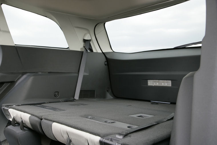 2010 Dodge Journey Rear Seats Folded Picture Pic Image