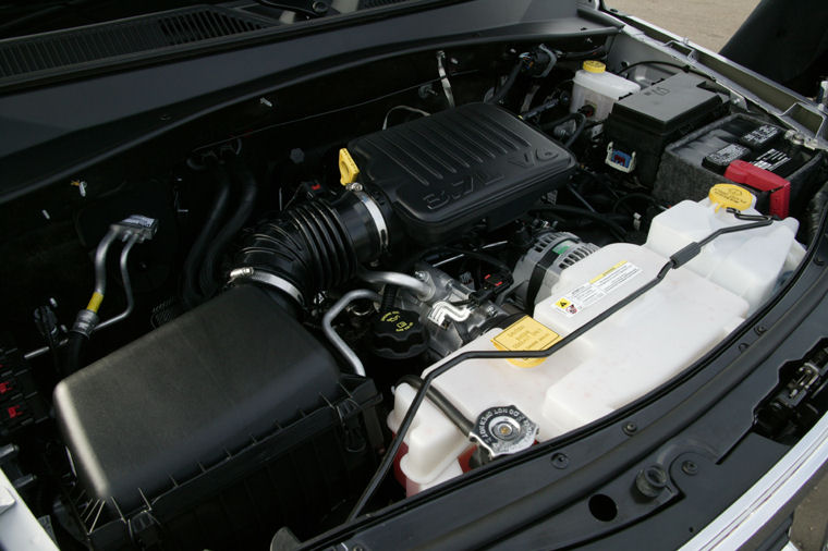 2009 Dodge Nitro Slt 3 7l V6 Engine Picture Pic Image