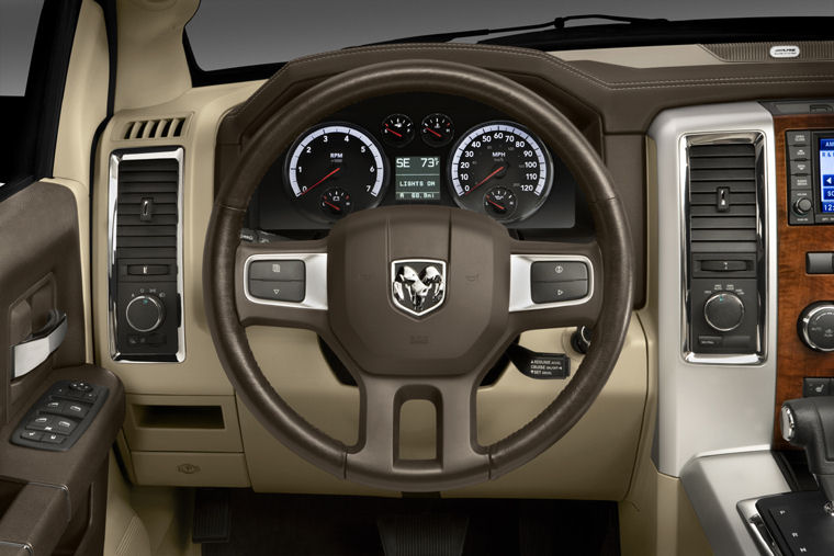 2009 Dodge Ram 1500 Laramie Crew Cab Steering-Wheel ...