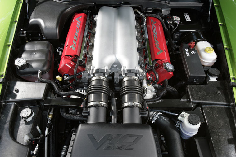 Dodge Mini Truck >> 2009 Dodge Viper SRT10 8.4L V10 Engine - Picture / Pic / Image