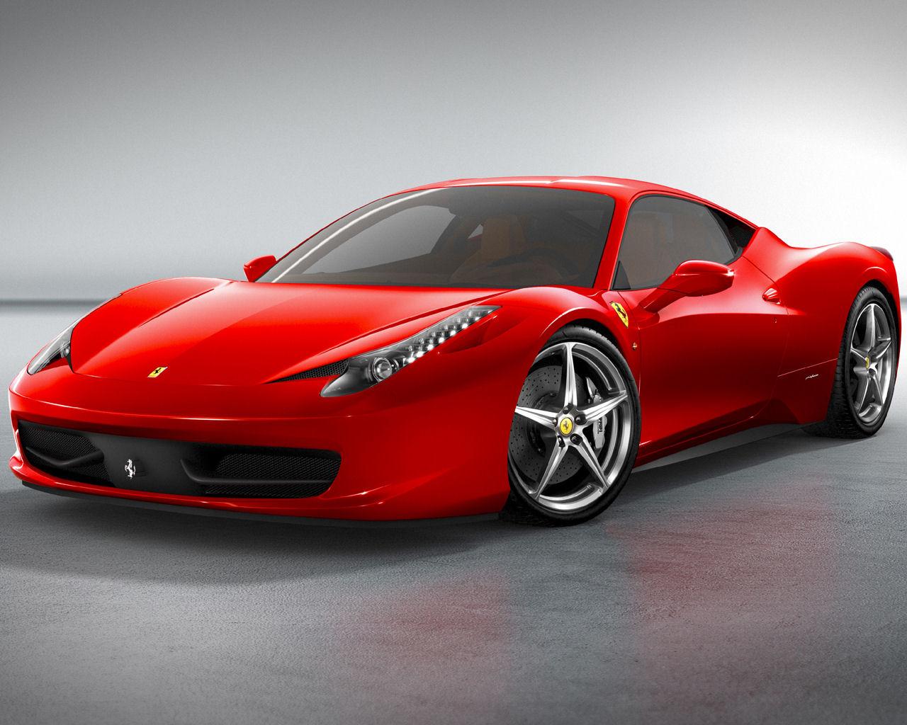 Ferrari 458 Italia V8 Free 1280x1024 Wallpaper Desktop