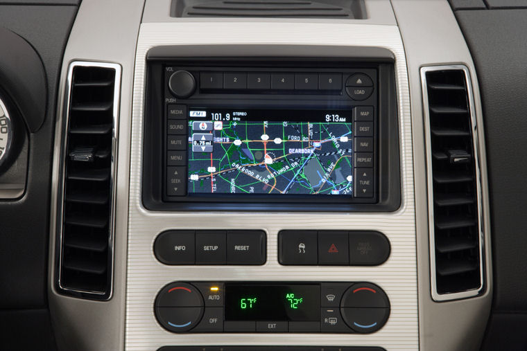 Ford Edge Dashboard Screen Picture
