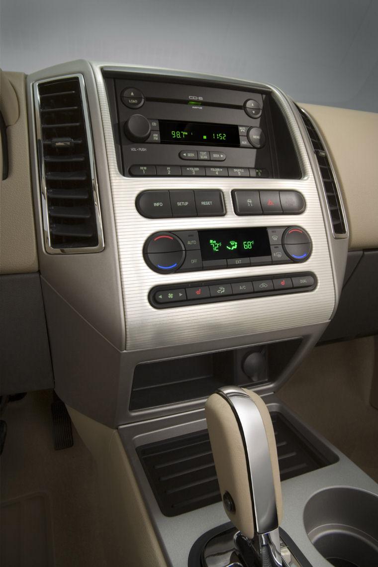2008 Ford Edge Center Dash Picture Pic Image