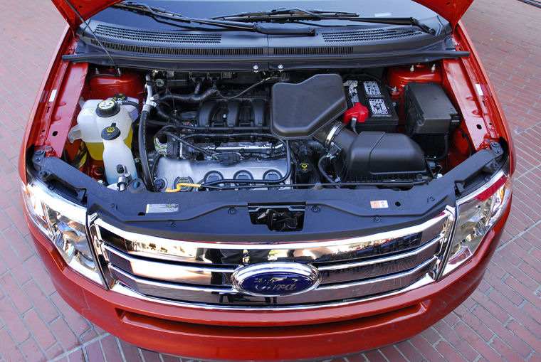 2008 ford edge 3.5l 6-cylinder engine - picture / pic / image chrysle 3 5l engine diagram