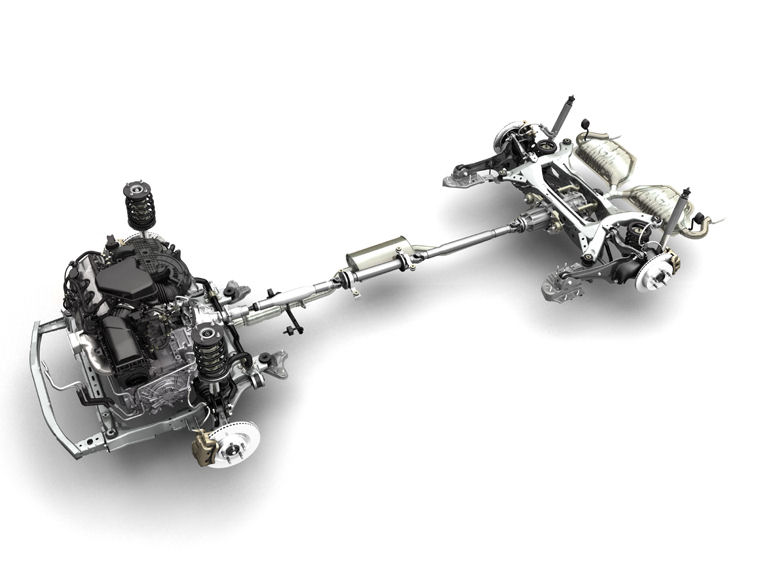 2008 Ford Edge Transmission >> 2008 Ford Edge Drivetrain Picture Pic Image