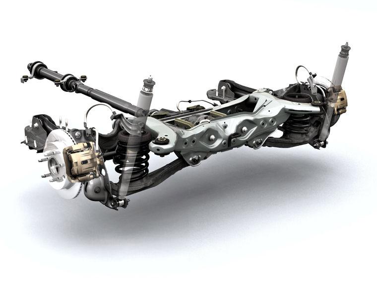 2008 Ford Edge Suspension Picture Pic Image
