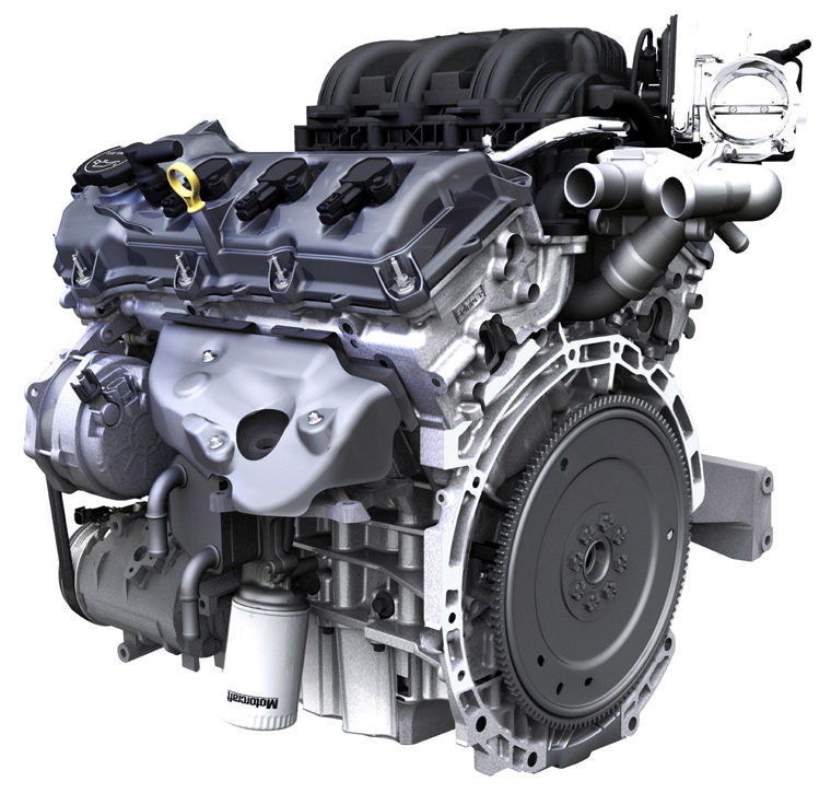 Ford Edge  L V Engine Picture