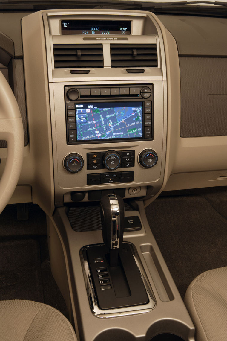2009 Ford Escape Center Console Picture Pic Image