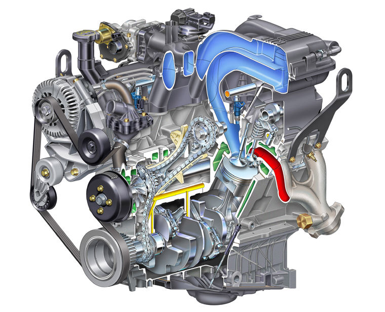 2006 Ford Explorer 4 0l V6 Engine Picture Pic Image