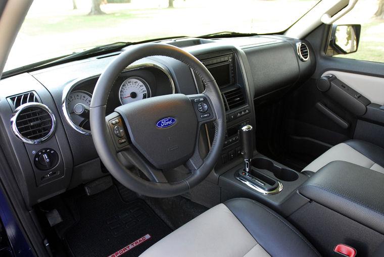 2007 Ford Explorer Sport Trac Interior Picture