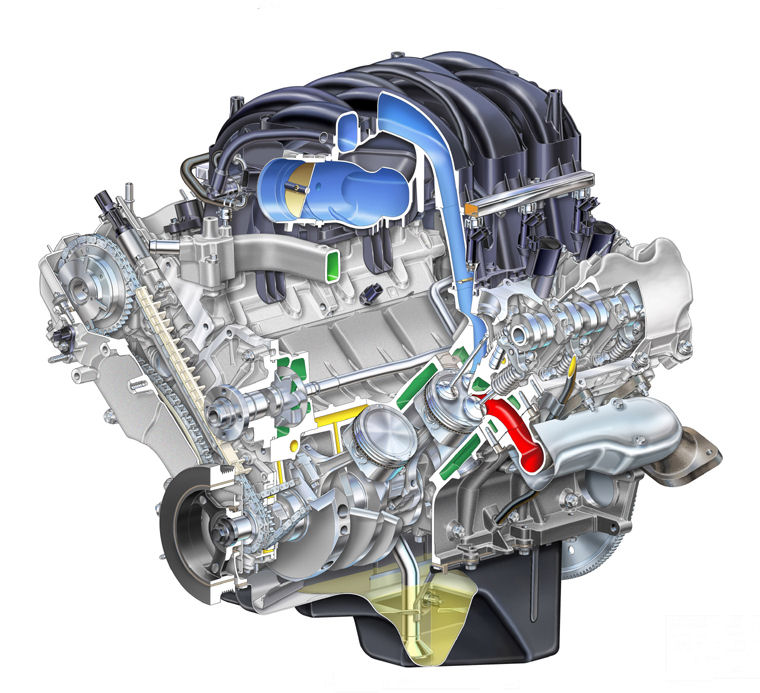 2008 Ford Explorer 4 6l V8 Engine   Pic    Image