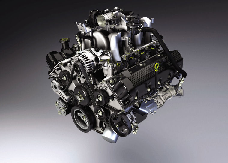 2004 Ford F150 4 6l V8 Engine   Pic    Image
