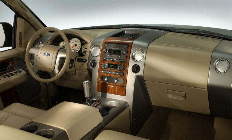 2004 Ford F150 Interior Picture
